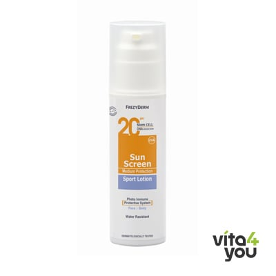 Frezyderm Sunscreen Sport Lotion SPF20 150 ml