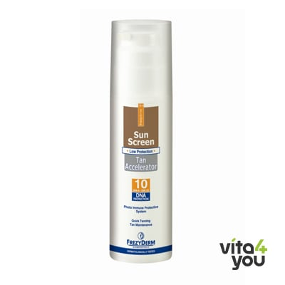 Frezyderm Sunscreen Tan Accelerator SPF10 150 ml