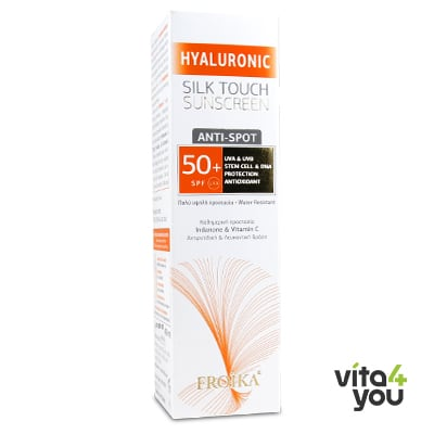 Froika Hyaluronic Silk Touch Sunscreen Anti-Spot SPF50+ 40 ml
