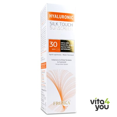 Froika Hyaluronic Silk Touch Sunscreen SPF30 40 ml