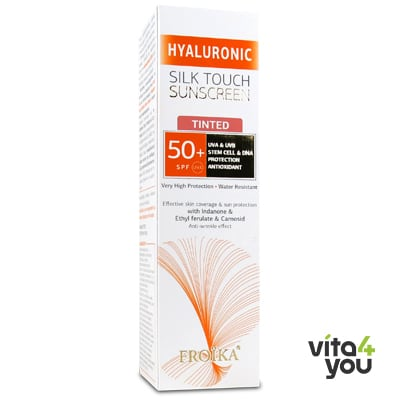 Froika Hyaluronic Silk Touch Sunscreen Tinted SPF50+ 40 ml