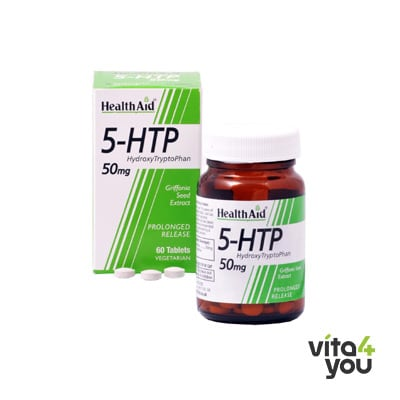 Health Aid 5-HTP 50 mg 60 tabs