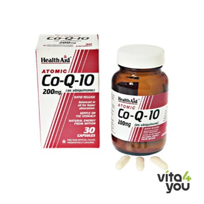 Health Aid CoQ-10 200 mg 30 caps