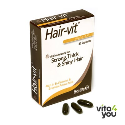 Health Aid Hair vit 30 caps