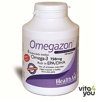 Health Aid Omegazon 120 caps