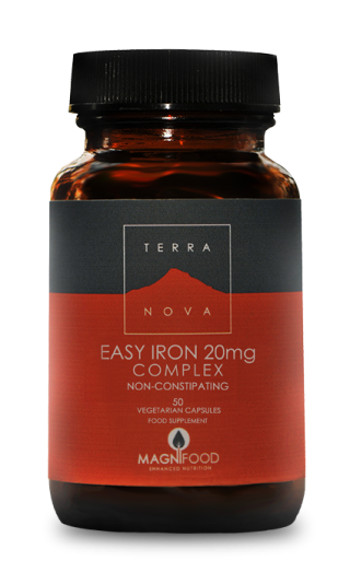 Terra Nova Easy Iron 20 mg 50 veg caps