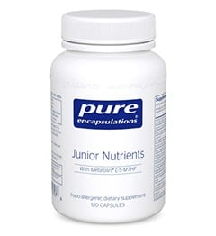 Pure Encapulations Junior Nutrients 120 caps