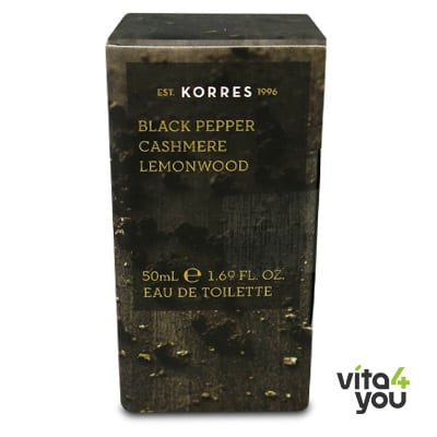 Korres Άρωμα Ανδρικό Black Black Pepper Cashmere Lemonwood 50 ml