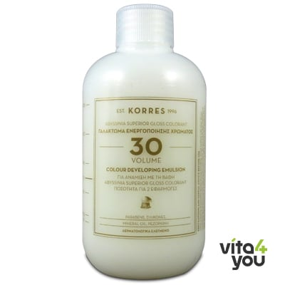 Korres Abyssinia Superior Gloss Colorant Γαλάκτωμα ενεργοποίησης χρώματος 150 ml
