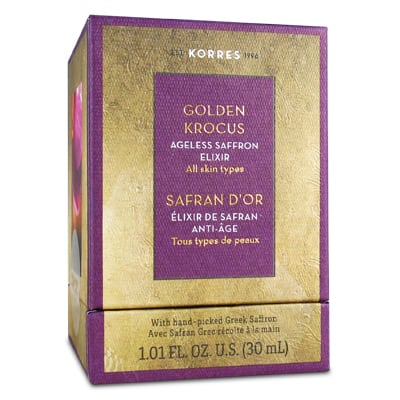 Korres Golden Krocus Ageless Saffron Elixir All skin types 30 ml