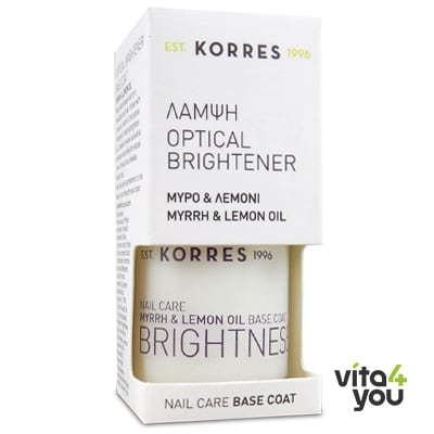 Korres Optical Brightener Nail Base Coat 10 ml