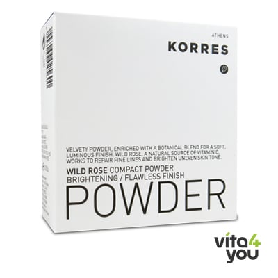 Korres Wild Rose Compact Powder 10 gr