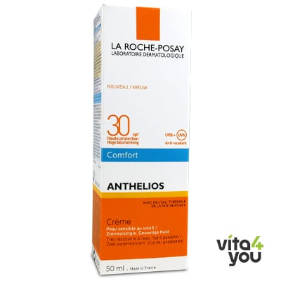 La Roche Posay Anthelios Comfort Creme with Perfume Pump SPF 30 50 ml