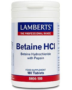 Lamberts Betaine HCL Pepsin 180 tabs