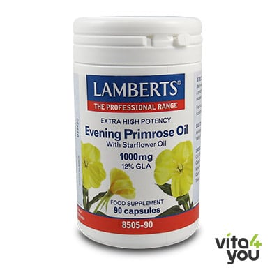 Lamberts Evening Primrose Oil & Starflower Oil 1000 mg 90 caps