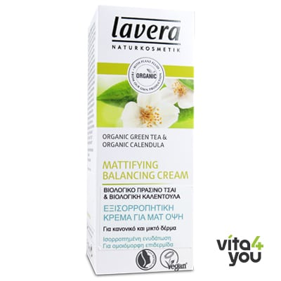 Lavera Mattifying Balancing cream Green tea & Calendula 50 ml