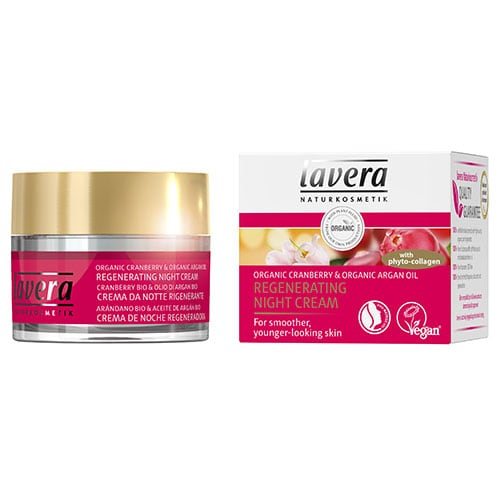 Lavera Regenerating Night Cream with Organic Cranberry & Argan Oil 50 ml