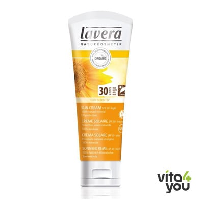 Lavera Sun Sensitiv face & body SPF30 75 ml