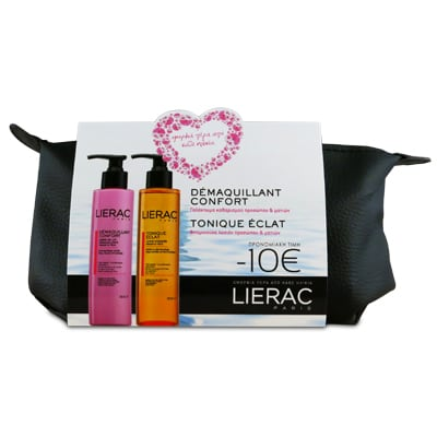 Lierac Demaquillant Confort 200 ml & Lierac Demaquillant Tonique Eclat 200 ml σε Νεσεσέρ