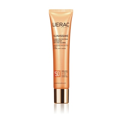 Lierac Sunissime Protective Energizing Fluid Global Anti-Ageing SPF50+ 40 ml