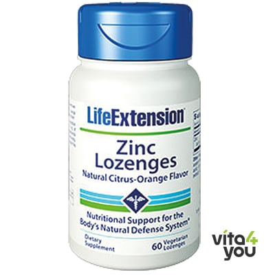 Life Extension Zinc 60 Lozenges