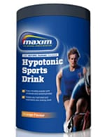 Maxim Sports drink Hypotonic orang/lemon 480 gr