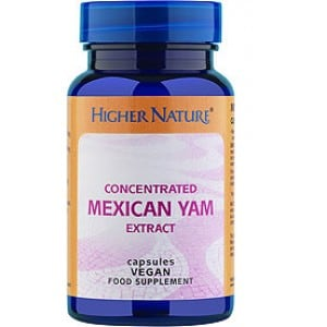 Higher Nature Mexican Yam concentrated 30 caps