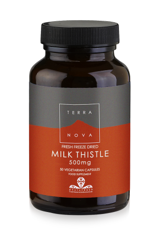 Terra Nova Milk Thistle 500 mg 50 veg.caps