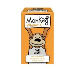 Monkey Vitamin C 30 chewable tabs