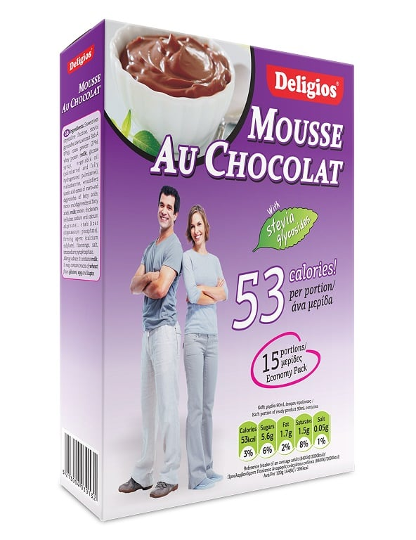 Deligios Mousse Chocolate 200 gr