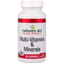 Nature's Aid Multi Vitamins & Minerals 90 caps