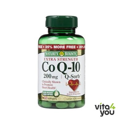 Nature's Bounty Co-Enzyme Q10 200 mg 30 softgels