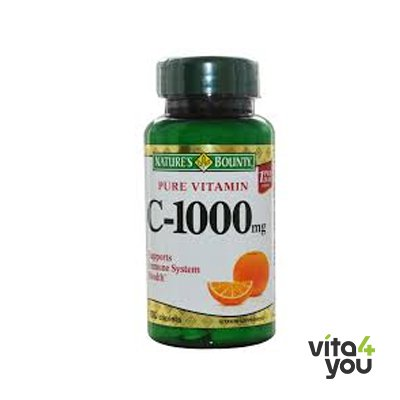 Nature's Bounty Vitamin C with rosehip 1000 mg 60 tabs