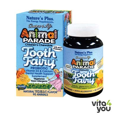 Nature's Plus Animal Parade Tooth Fairy Children 90 chewable tabs