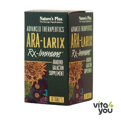 Nature's Plus Ara-Larix Rx-Immune 500mg 30 tabs