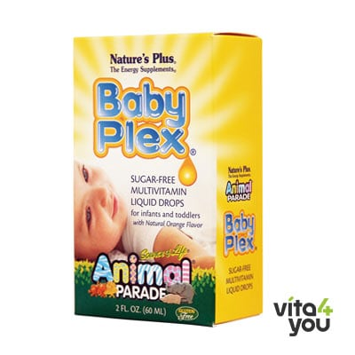 Nature's Plus Baby Plex Sugar-Free Drops 59 ml