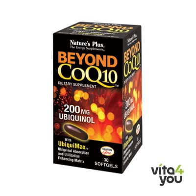 Nature's Plus Beyond CoQ10 200 mg Ubiquinol 30 softgels
