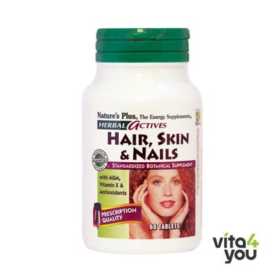 Nature's Plus Hair, Skin & Nails 60 tabs