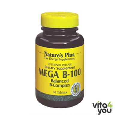 Nature's Plus Mega B-100 60 tabs