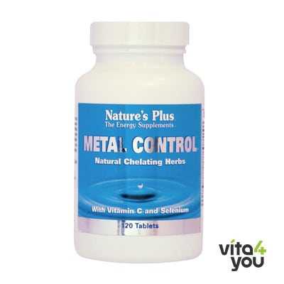 Nature's Plus Metal Control 120 tabs