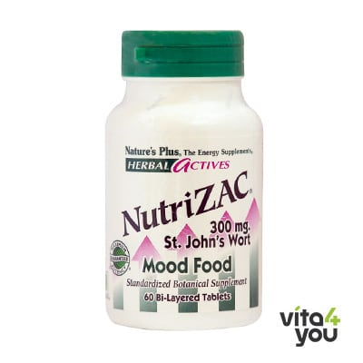 Nature's Plus NutriZAC 60 tabs