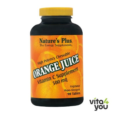 Nature's Plus Orange Juice C 500 mg 90 tabs
