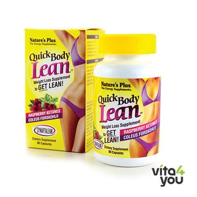 Nature's Plus Quick Body Lean Raspberry Ketones 90 caps