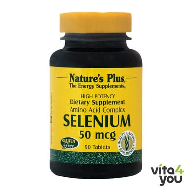 Nature's Plus Selenium 50 mcg 90 tabs