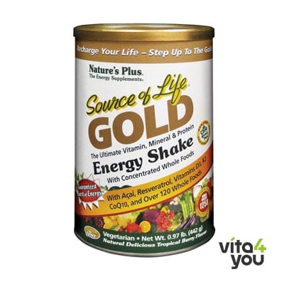 Nature's Plus Source of Life Gold Shake 442 gr