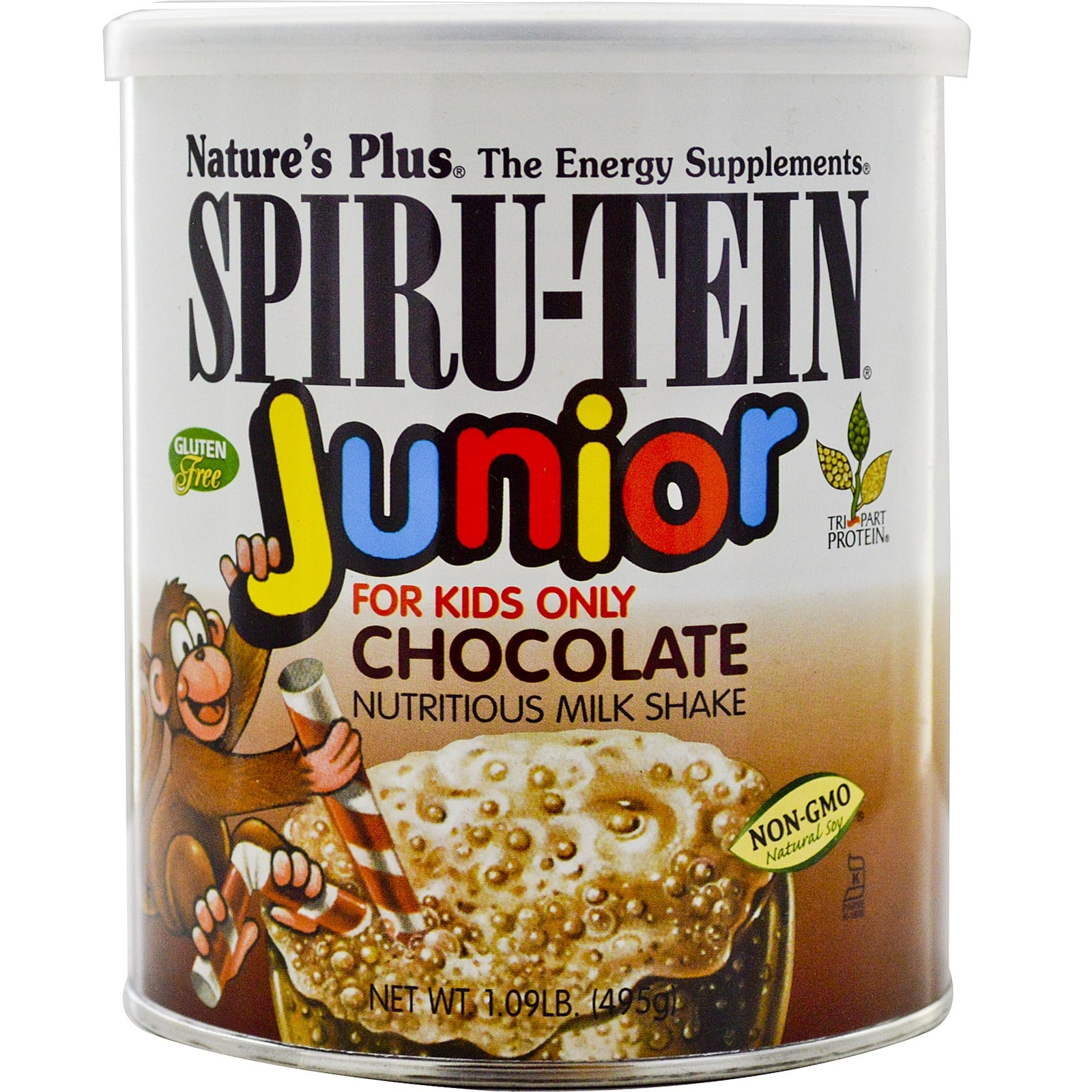 Nature's Plus Spiru-Tein Junioir Chocolate 495 gr