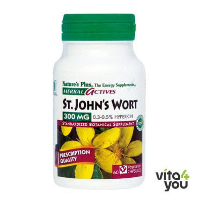 Nature's Plus St. John's Wort 300 mg 60 veg.caps