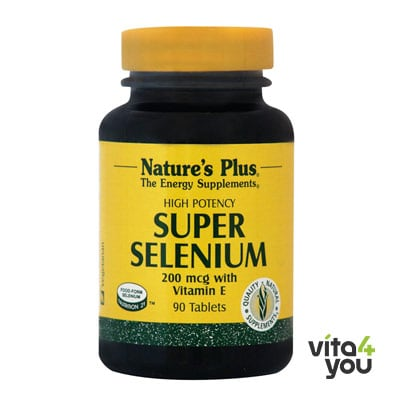 Nature's Plus Super Selenium 200 mcg 90 tabs