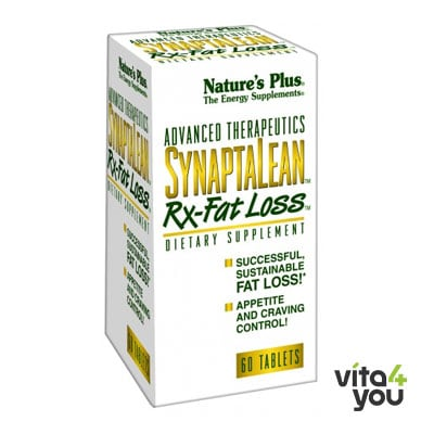 Nature's Plus Synaptalean Rx-Fat Loss 60 tabs