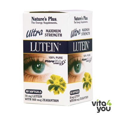 Nature's Plus Ultra Lutein 60 Softgels